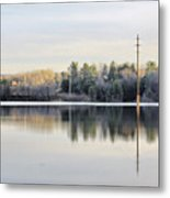 Reflections Across The Water Metal Print