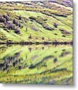 Reflections Alaska  Metal Print