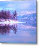 Reflections Along Highway 97 Metal Print