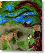 Reflections And Prayer Of St. Francis Metal Print