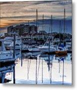 Reflections At Sunset Metal Print