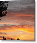 Reflections At The Close Of Day Metal Print