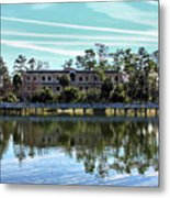Reflections At The Lake Metal Print