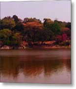 Reflections In A Lake Metal Print
