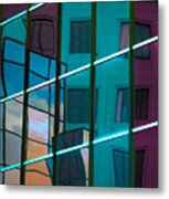 Reflections In Colour Metal Print