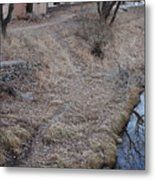 Reflections In The River Metal Print