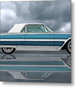 Reflections Of A 1961 Thunderbird Metal Print