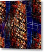 Reflections Of A City 3 Metal Print