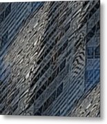 Reflections Of A City 4 Metal Print