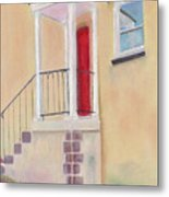 Red Door - Baltimore Metal Print