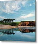 Reflections Of Budleigh Metal Print