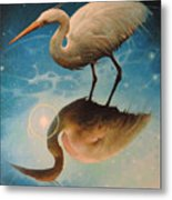 Reflections Of Creation Metal Print