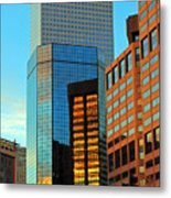 Reflections Of Denver Metal Print