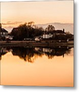 Reflections Of Emsworth Metal Print