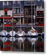 Reflections of France Metal Print