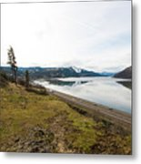 Reflections Of Mosier Metal Print