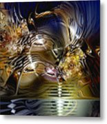 Reflections Of The Dervish Metal Print