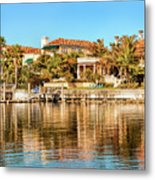 Reflections Of The Rich And Famous Metal Print