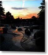 Reflections Of The Sky  Metal Print