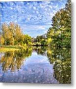 Reflections On Cibolo Creek Metal Print