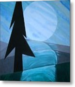 Reflections On The Day Metal Print by J R Seymour