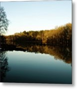 Reflections Metal Print by Valeria Donaldson