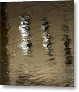 The Canal Saint Martin # 1. Metal Print