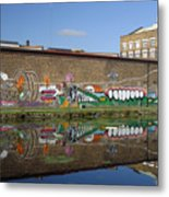 Reflective Canal 6 Metal Print