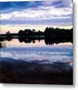 Reflective River  Metal Print