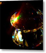Refraction Reflection Metal Print