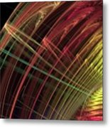 Refraction Metal Print
