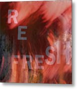 Refresh Metal Print