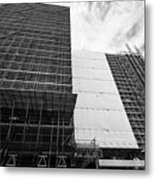 Refurbishment Of Lloyd House West Midlands Police Headquarters Office Development In New Financial A Metal Print