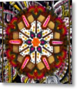 Regal Mandala Metal Print