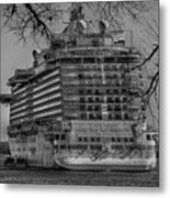 Regal Princess Hamilton Metal Print