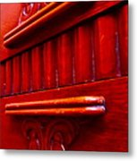 Regally Red Metal Print