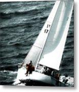 Regatta Sailboat Races Metal Print
