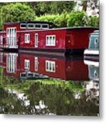 Regent Houseboats Metal Print