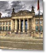 Reichstag Building  Metal Print