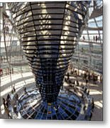 Reichstag In Berlin Metal Print