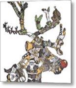 Reindeer Games Metal Print