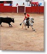 Rejoneador And The Bull, San Miguel De Allende Metal Print