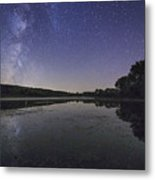 Relax And Look At The Stars Metal Print