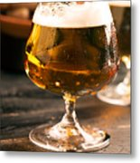 Relax And Take A Sip Of Cold Beer Metal Print