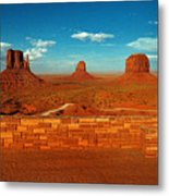 Relax At Mounment Park Metal Print