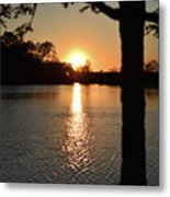 Relax By The Lake Metal Print