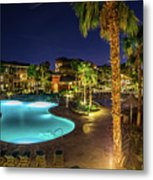 Relaxation Vacation Metal Print