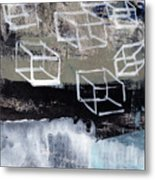 Released- Abstract Art Metal Print