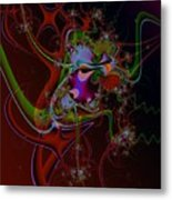 Relentless Thoughts Metal Print