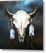 Relic Of The Plains Metal Print